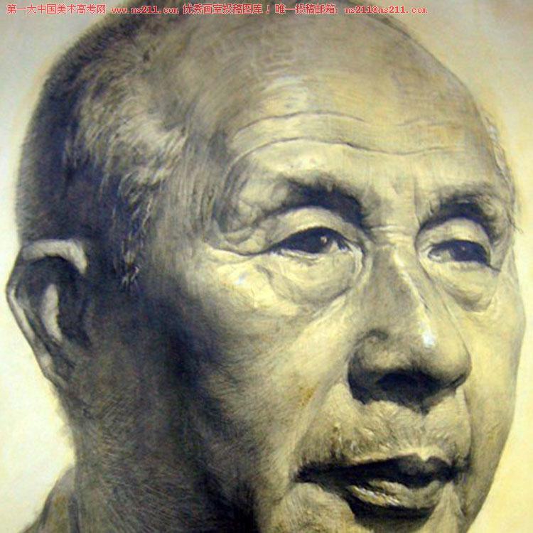 北京艺行画室-美术高考-素描头像-投稿作品