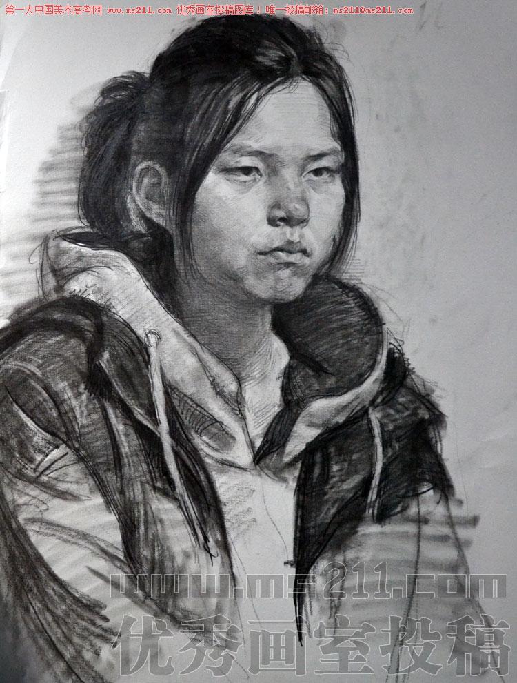北京历史画室美术高考素描头像投稿作品2013112212
