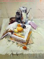 甘肃兰州徐虎艺术工作室,万博体育手机版登录水粉静物投稿作品2014040621