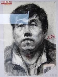 2014年天津美术学院优秀美术试卷(素描头像)2014123101
