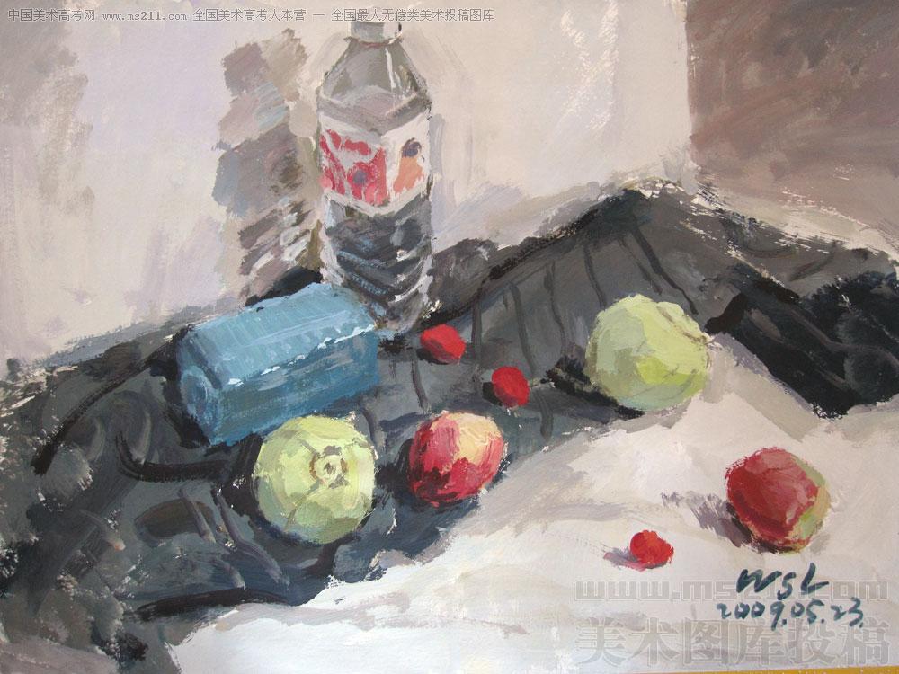 魏善磊 水粉静物美术高考投稿作品2010042418