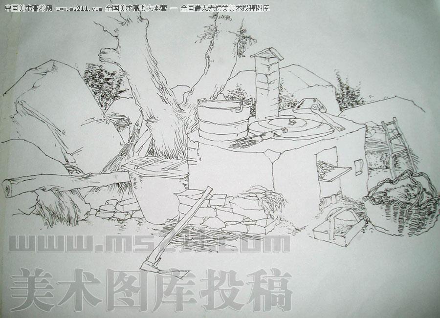 谭玉龙/( 文章转载请标明:ms211中国美术高考网)