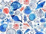 水彩 · 花的纹理  |  Margaret Berg